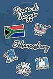 Diario di Viaggio Johannesburg: Diario di viaggio da compilare | 106 pagine, 15,24 cm x 22,86 cm | Per accompagnarvi durante il vostro soggiorno (Italian Edition)