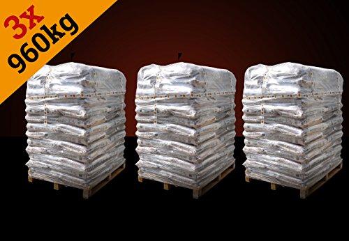 ▶ 3x 960 kg Holzpellets Marke