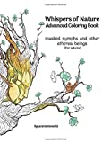 Whispers of Nature Advanced Coloring Book: masked nymphs and other ethereal beings (for adults):...