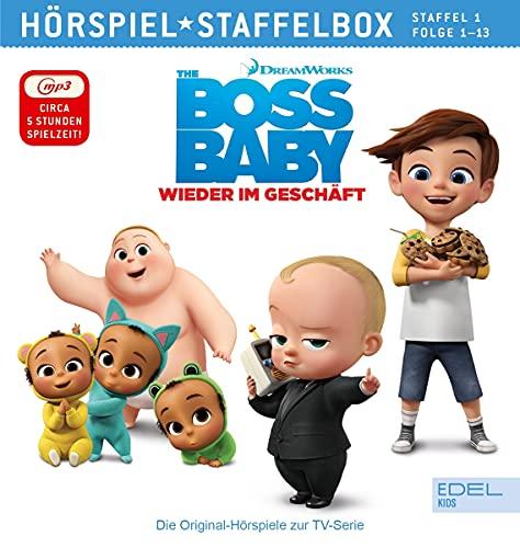 Boss Baby - Wieder im Geschäft - mp3-Staffelbox 1 - Das Original-Hörspiel zur TV-Serie (Folgen 1 - 13) [Exklusiv bei Amazon]