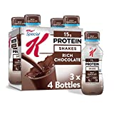 Kellogg's Special K Rich Chocolate Protein Shakes - Meal Replacement, Gym Food, Pack of 3 (12 Count)