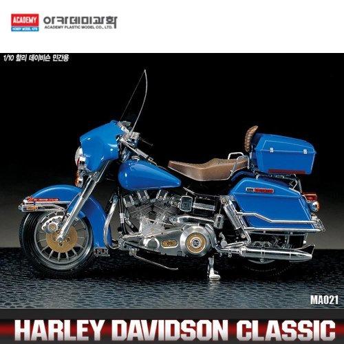Academy AC15501 - 1/10 Klassischer Motorrad