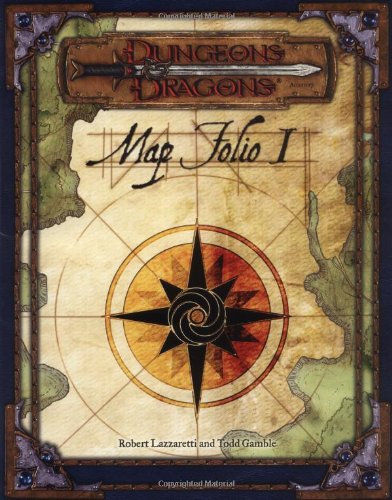 Dungeons and Dragons Map Folio: Pack 1 (Dungeons & Dragons)