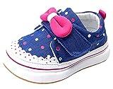 La Vogue Bebe Zapatos Primeros Pasos Casual Deportiva Talla 19/Longitud de Zapatos 13cm Azul
