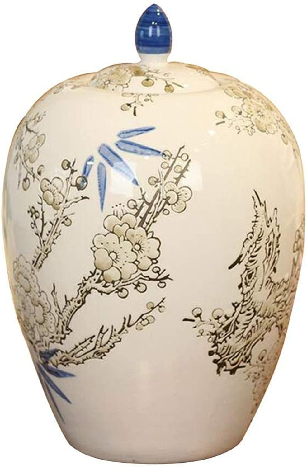 Adult Funeral Urn  Ceramics Seal Cover Moisture Proof Handcrafted Cremation Urns  For A Small Amount Human Or Pets Ashes  Display Burial Urn At Home Or In Niche At Columbarium,Urns