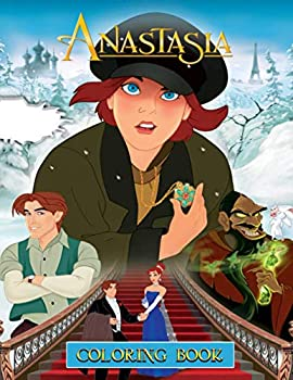 Anastasia Coloring Book  Anastasia Premium Coloring Books For Adult Awesome Collections With 50+ Coloring Pages