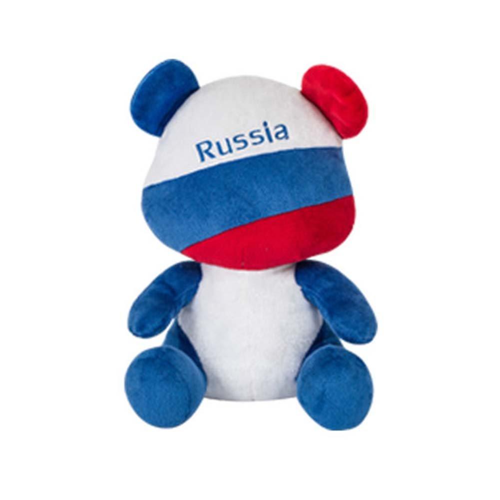 Black Temptation Banderas Simples Simples Creativas del Ventilador del Juguete de la Mascota del Oso, Rusia: Amazon.es: Juguetes y juegos