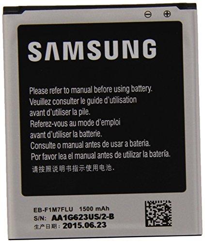 Samsung EB-F1M7FLU - Batería de litio-polímero paraSamsung Galaxy S3 Mini i8190(3,8 V, 1500 mAh)