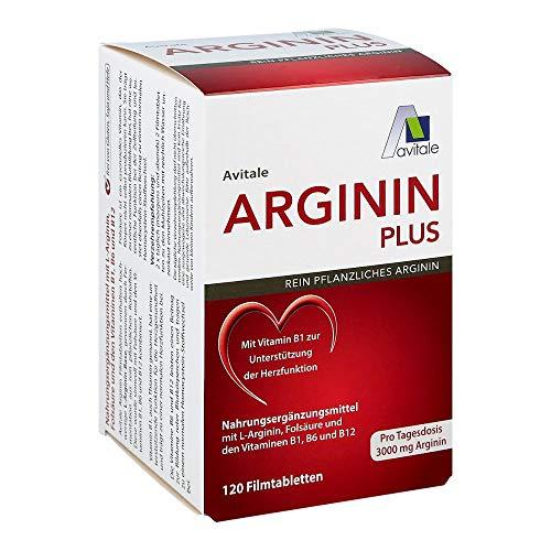 ARGININ PLUS Vitamin B1+B6+B12+Folsäure Filmtabl. 120 St