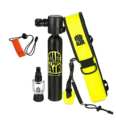 Submersible System Spare Air Model 300 Package Kit 3.0 cu ft w/Safety Whistle