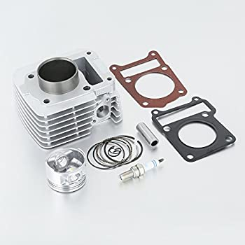 XMT-MOTO Cylinder Piston Rings Top End Kit fits for Yamaha TTR125 TTR 125 TTR-125 2000 2001 2002 2003 2004 2005