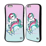 Head Case Designs Officially Licensed My Little Pony Classic Believe Off My Cloud Hybrid Case Compatible with Apple iPhone 6 Plus/iPhone 6s Plus