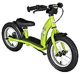 BIKESTAR Kinder Laufrad Lauflernrad Kinderrad für Jungen und Mädchen ab 3 - 4 Jahre ★ 12 Zoll Classic Kinderlaufrad ★ Grün