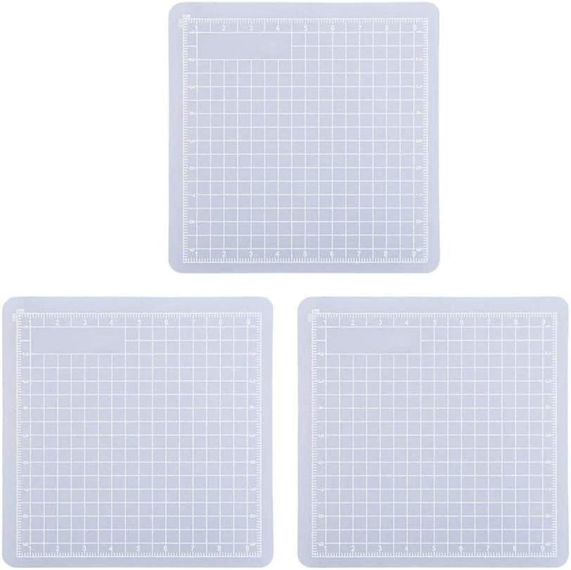 SALENEW very popular Cutting Mat with Different Ranking TOP9 Translucent 3pcs Non-sli Size