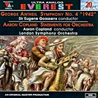 Antheil: Symphony No. 4 (1942) / Copland: Statements for Orchestra
