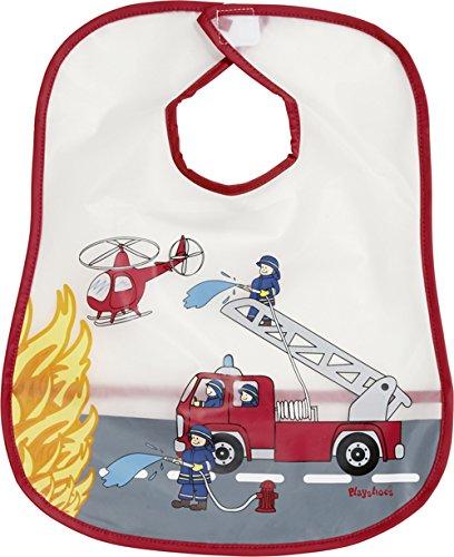 Playshoes 506504 Peva Lätzchen Feuerwehr, rot