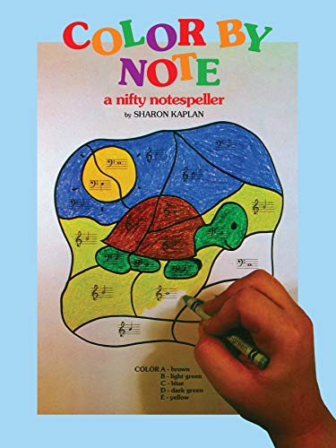 Color by Note, Bk 1: A Nifty Notespeller
