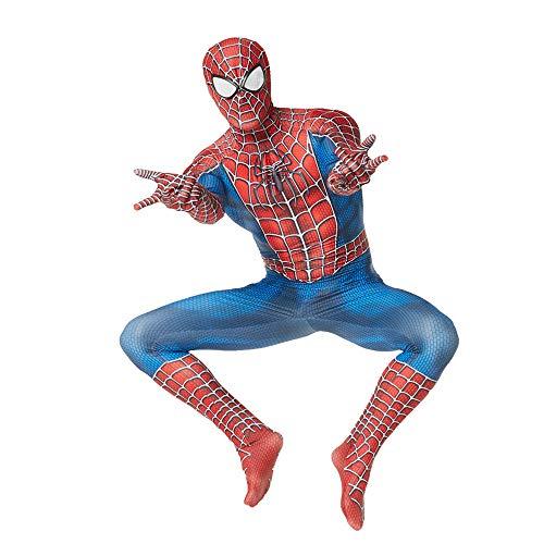 WOLJW Spiderman Kind Volwassen Homecoming Carnaval Cosplay Spiderman pak Spandex/Lycra 3D Print Spiderman Kostuum Prestatie Show