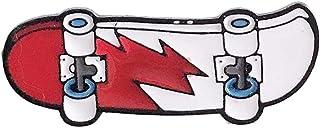 Amoyer Monopatín De Dibujos Animados Broches Perno Joyas Pequeñas Joyas Chaquetas Broches Pin Badge