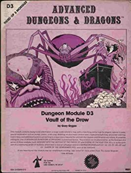 Vault of the Drow (Module D3) (Advanced Dungeons & Dragons) - Book  of the Advanced Dungeons and Dragons Module #C4