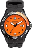 Cressi Manta Coloroma Professional Dive Watch with Mineral Glass, Black/Orange, One Size