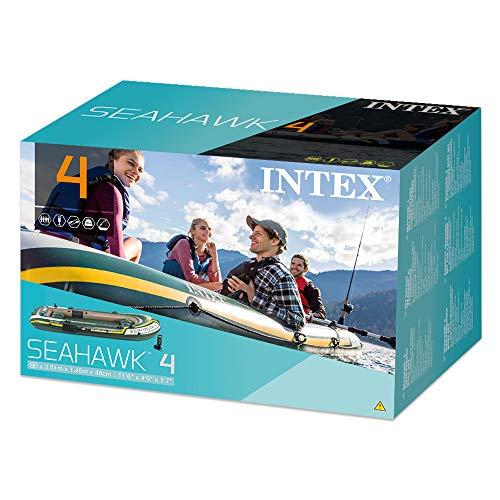 intex seahawk 4 review