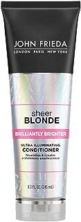 John Frieda Sheer Blonde Brilliantly Brighter Ultra Illuminating Conditioner, 8.3 Ounces
