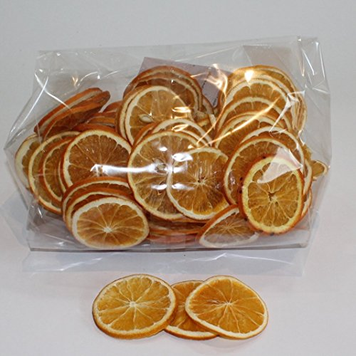 Rodajas de naranjas deshidratadas en bolsita
