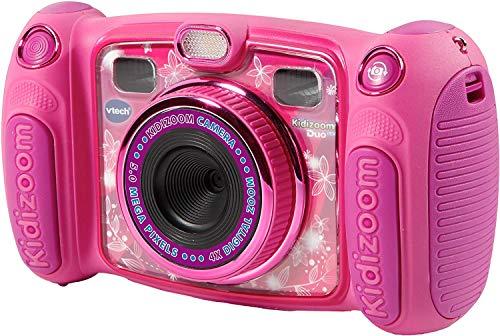 VTech Kidizoom Duo 5.0 Appareil Photo numérique pour Enfant 5 mégapixels Écran Couleur 2 objectifs Rose
