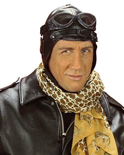 Chapeau d'aviateur du style rétro en cuir Faux