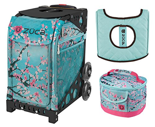 Zuca Sport Bag - Hanami with Lunchbox and Seat Cover (Pink)