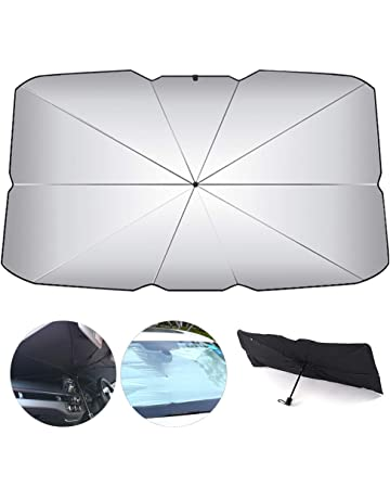 Parasole per Parasole Anteriore per Auto Parasole per ombrellone Freddo Raggi UV e Parasole Termico per Protezione Parasole Pieghevole Ecisi Parasole per Parabrezza per Auto