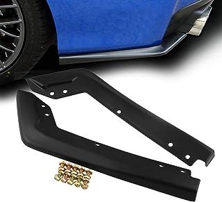 1 par de alerones para coche, estilo OE faldón trasero de plástico ABS, para Subaru 2015-2016 para WRX STi, negro