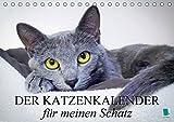 Der Katzenkalender für meinen Schatz (Tischkalender 2018 DIN A5 quer): Besinnliche und heitere Lebensweisheiten für Katzenliebhaber (Monatskalender, ... [Kalender] [Apr 01, 2017] CALVENDO, k.A.