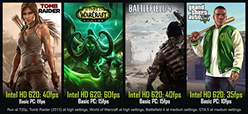 Lenovo SSD Gaming 17,3 Zoll HD Notebook Intel Core i5 7200U, 8GB DDR4, Bild 2*