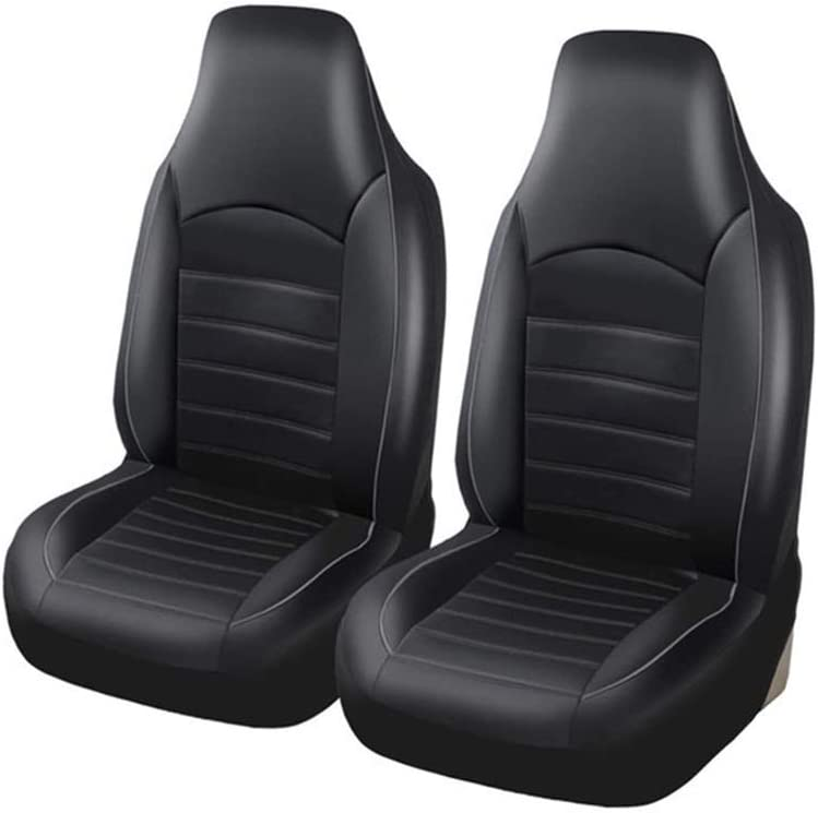 CffdoiQCZD Today's only 2PCS Set PU Car Seat Fashion Covers Hig [Alternative dealer] Style Leather