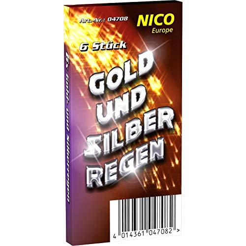 24 Gold- und Silberregen Handfontäne...