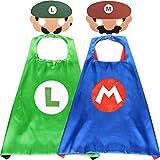 Disfraces de la Super mario para niños Capas de la Super marioMáscaras de Fiesta Juguetes de la Super mario Cosplay