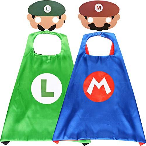 Super Mario Costumi per Bambini Paw Patrol Mantelle Maschere per Feste Paw Dog Patrol Toys Puppy Cosplay Character Bomboniere per Feste