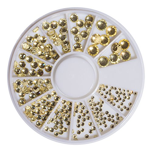 Strass en cristal or Jonquil SS6–41098 SS20 240 pièces