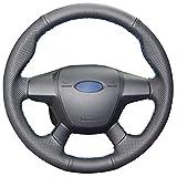 MEWANT - Funda para volante de coche de piel auténtica para