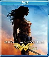 Mujer Maravilla (Wonder Woman) Blu-ray 3D + Blu-ray + DVD + Digital Copy (English, Spanish & Portuguese Audio & Subtitles)