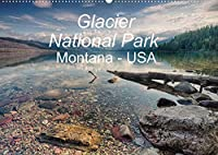 Glacier National Park Montana - USA (Wandkalender 2022 DIN A2 quer): Kurzvisite im Glacier National Park im Hochgebirge der Rocky Mountains. (Monatskalender, 14 Seiten )