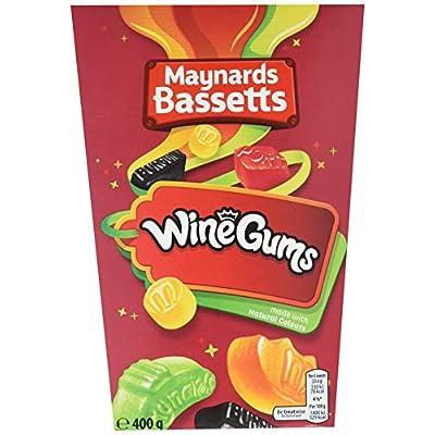 maynards bassetts wine gums, 400 g, pack of 6 Maynards Bassetts Wine Gums, 400 g, Pack of 6 51QRvNiBU8L
