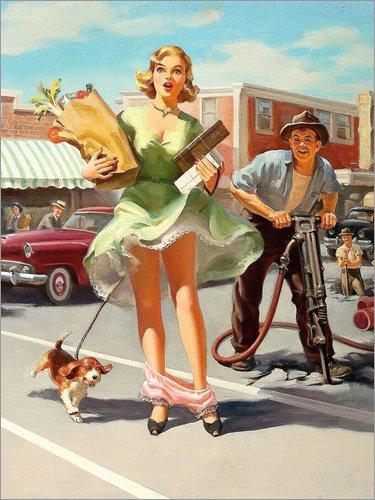 Posterlounge Acrylglasbild 60 x 80 cm: Der Blick darunter von Art Frahm - Wandbild, Acryl Glasbild, Druck auf Acryl Glas Bild