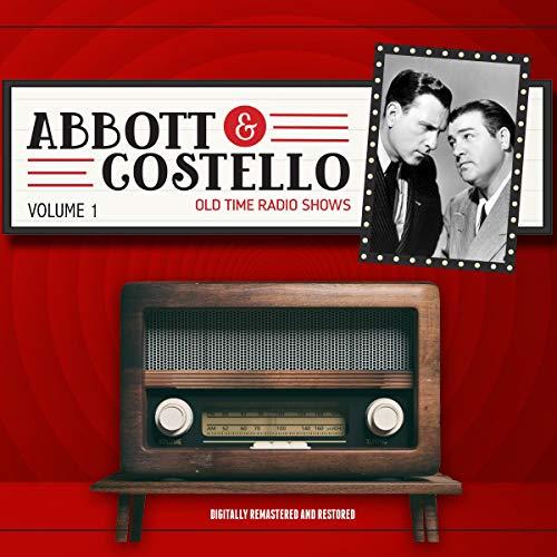 Abbott and Costello: Volume 1 audiobook cover art