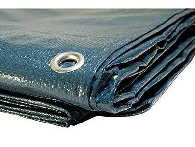 Lona para piscina de 150 g/m²–6x 10 m–Cubierta impermeable para piscina