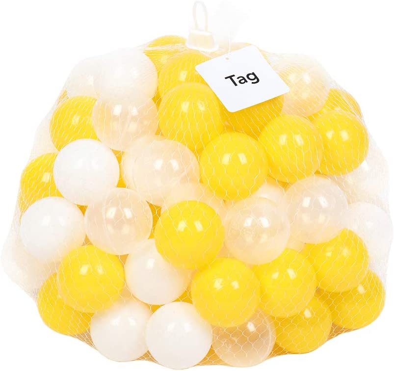 National products WHFKFBS 100 200Pcs 5.5Cm Fun Soft Swim Max 84% OFF To Ocean Ball Pit Plastic