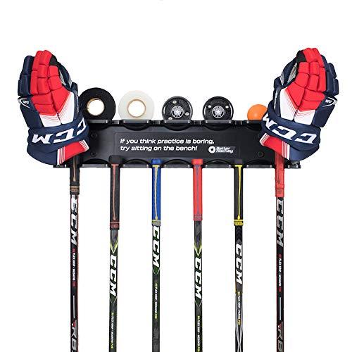 Better Hockey Extreme Stick Rack - Schlägerset mit Platz für sechs Hockeyschläger