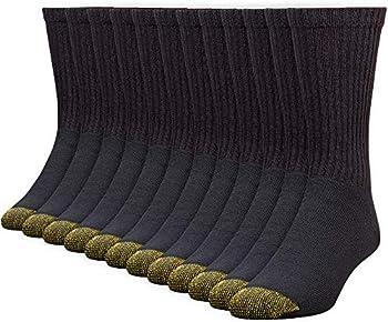 Gold Toe Men's 656s Cotton Crew Athletic Socks